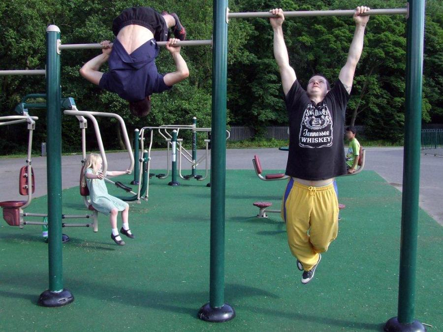 Outdoor Gym - Real workouts