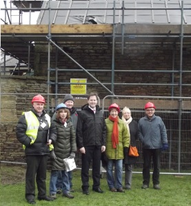 Millhouses Mill Group Photo with Nick Clegg